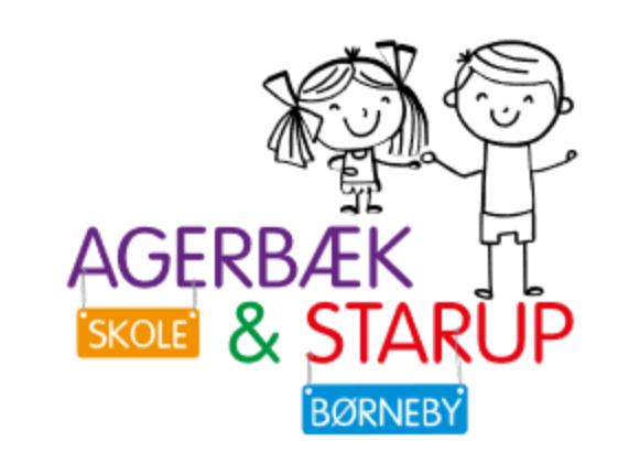 Agerbækskole Starupbørneby - logo